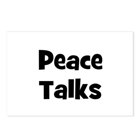 Peace Talks Postcards (Package of 8)