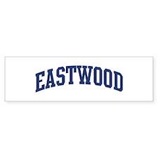 EASTWOOD design (blue) Bumper Bumper Bumper Sticker