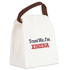 Trust Me, I'm Ximena Canvas Lunch Bag