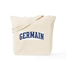 GERMAIN design (blue) Tote Bag
