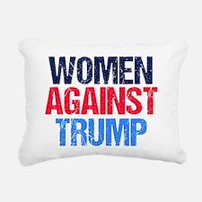 Women Against Trump Rectangular Canvas Pillow