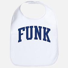 FUNK design (blue) Bib