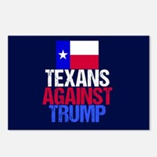 Anti Trump Texan Postcards (Package of 8)