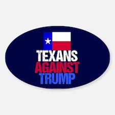 Anti Trump Texan Decal