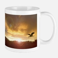 Dragon Sunset 1 Mug