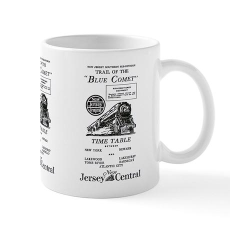 The Blue Comet Mug