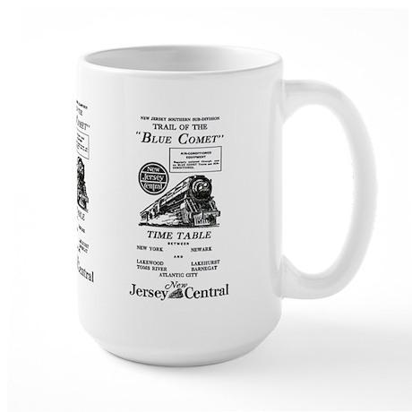 The Blue Comet Large Mug