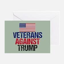 Veterans Against Trump Greeting Cards (Pk of 10)