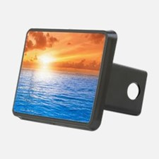 Ocean Sunset Hitch Cover