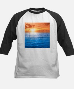 Ocean Sunset Baseball Jersey