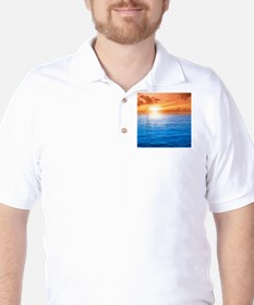 Ocean Sunset Golf Shirt