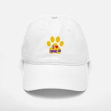 I Love Schipperke Dog Baseball Baseball Cap