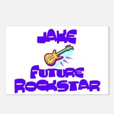 Jake - Future Rock Star Postcards (Package of 8)