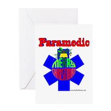 Paramedic Christmas Gifts Greeting Card