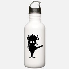 Funny Girl acoustic guitar Water Bottle