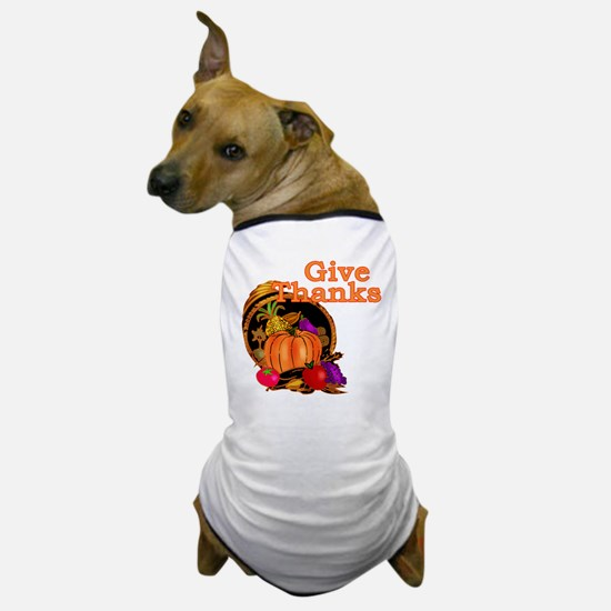 Bountiful Cornucopia Dog T-Shirt