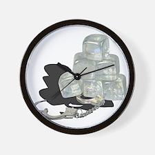 Unique Arrested Wall Clock