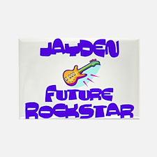 Jayden - Future Rock Star Rectangle Magnet (10 pac