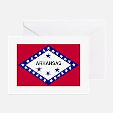 Arkansas Fla Greeting Cards