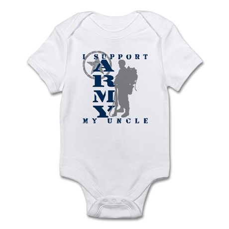 I Support Uncle 2 - ARMY Infant Bodysuit