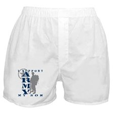 I Support Son 2 - ARMY Boxer Shorts