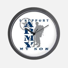 I Support Son 2 - ARMY Wall Clock