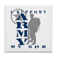 I Support Son 2 - ARMY Tile Coaster