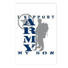 I Support Son 2 - ARMY Postcards (Package of 8)