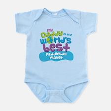 Paddleball Player Gifts for Kids Infant Bodysuit