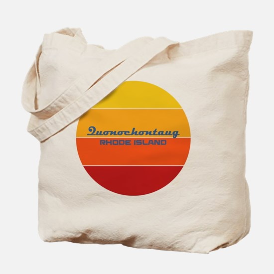 Rhode Island - Quonochontaug Tote Bag