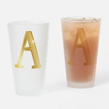 Cute Greek letter alpha gamma delta Drinking Glass
