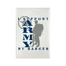I Support My Rngr 2 - ARMY Rectangle Magnet