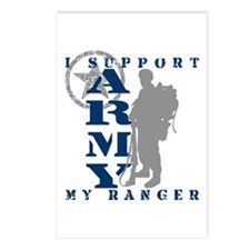 I Support My Rngr 2 - ARMY Postcards (Package of