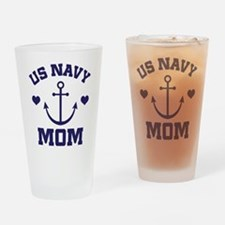 US Navy Mom gift Drinking Glass
