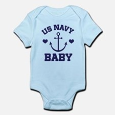 US Navy Baby Body Suit