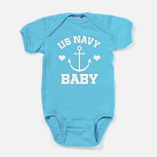 US Navy Baby gift Baby Bodysuit