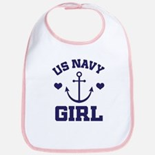 US Navy Girl Bib
