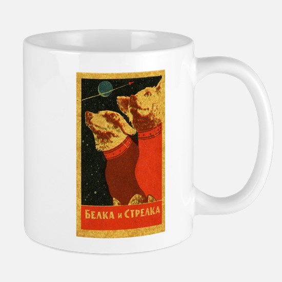 Belka and Strelka Mugs