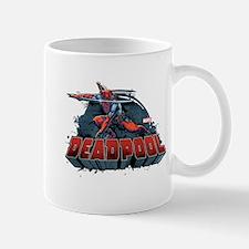 Deadpool Pose Small Small Mug