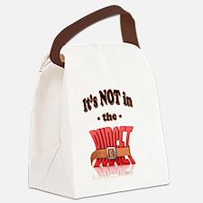 Cute Finances Canvas Lunch Bag