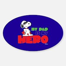 Dad Hero Bumper Stickers