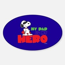 Dad Hero Decal