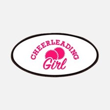 Cheerleading girl Patch
