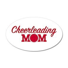 Cheerleading Mom Wall Decal
