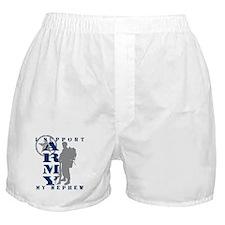 I Support Nephew 2 - ARMY Boxer Shorts