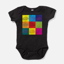Funny Neuroscience Baby Bodysuit