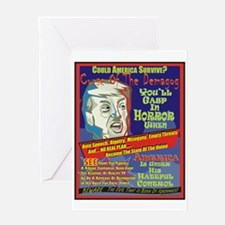 Trump Terror Greeting Cards