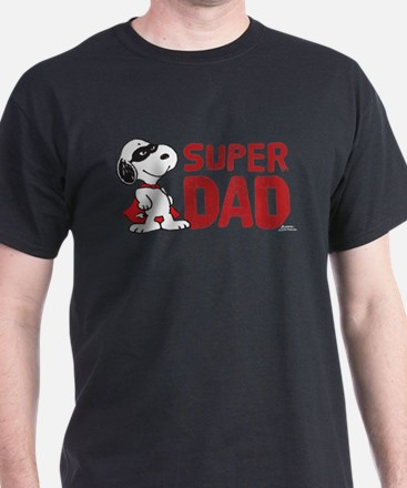 Peanuts: Super Dad T-Shirt