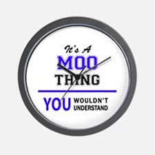 It's MOO thing, you wouldn't understand Wall Clock