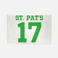 ST. PAT'S 17 Rectangle Magnet